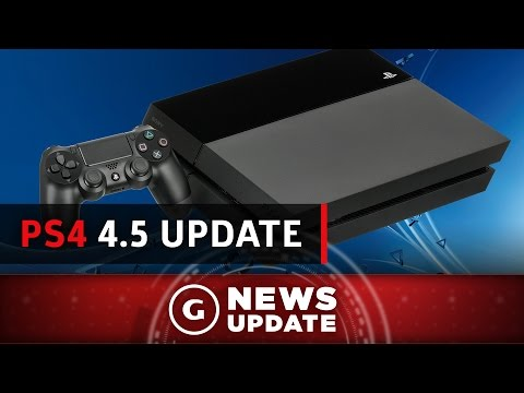 PS4 4.5 Update Out Tomorrow - GS News Update