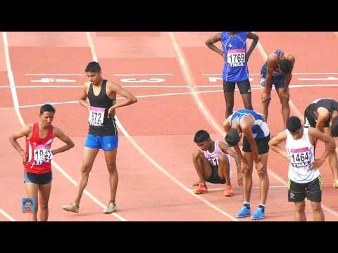 BOYS U14  600m RUN FINAL. 32nd NATIONAL   Jr. ATHLETICS CHAMPIONSHIPS-2016