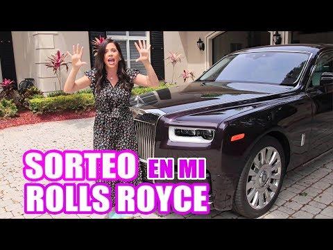 MI ROLLS ROYCE PHANTOM Y SORTEO POR LOS 100 K SUSCRIPTORES - El Mundo de Camila - Camila Guiribitey