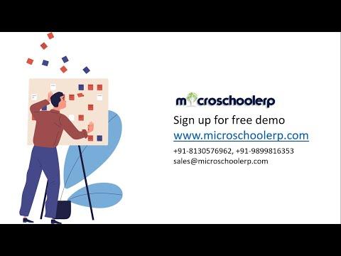 School Management System Software  - Microschoolerp