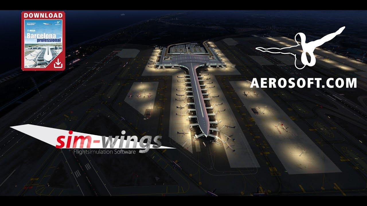 simMarket: AEROSOFT - MEGA AIRPORT BARCELONA PROFESSIONAL P3D