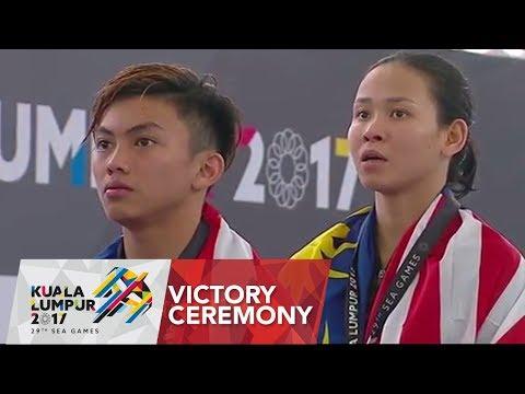 Aquatics Diving: Team Event Victory Ceremony | 29th SEA Games 2017