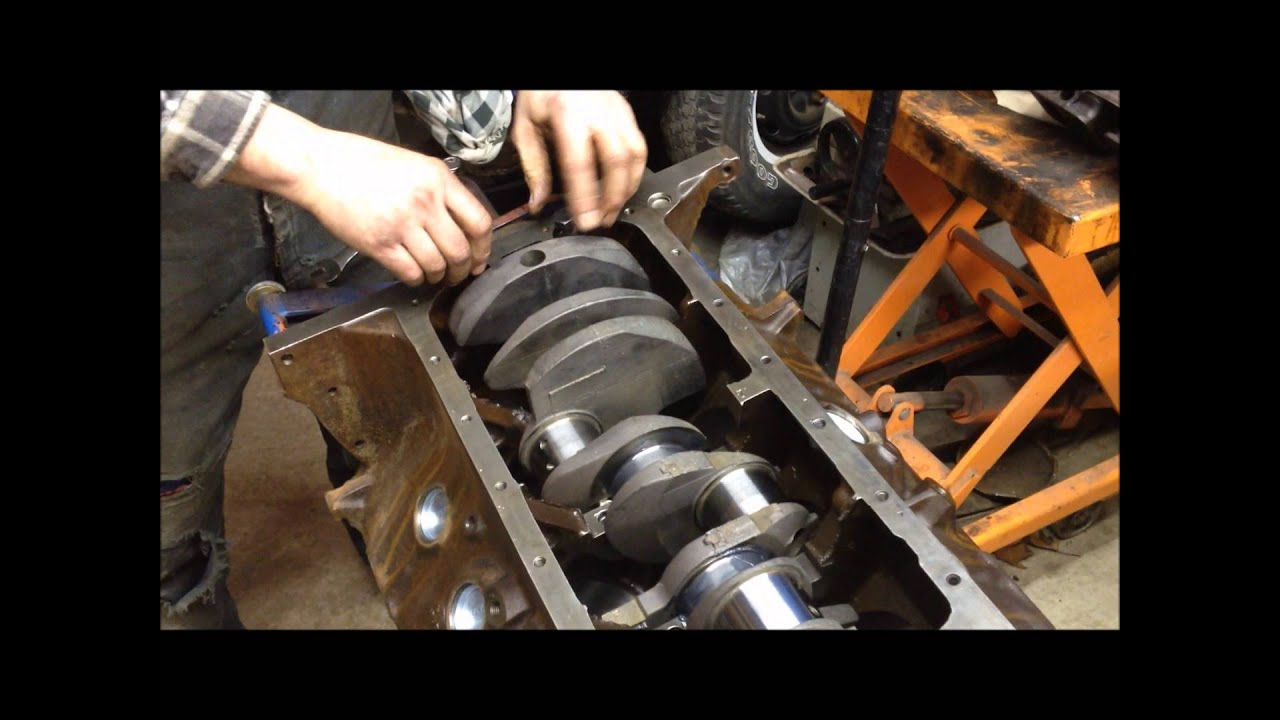 hight resolution of 360 390 fe rear main seal installation how to