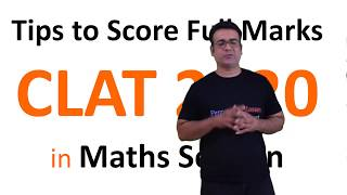 CLAT 2020   How to Study Maths   Important Topics   Strategy