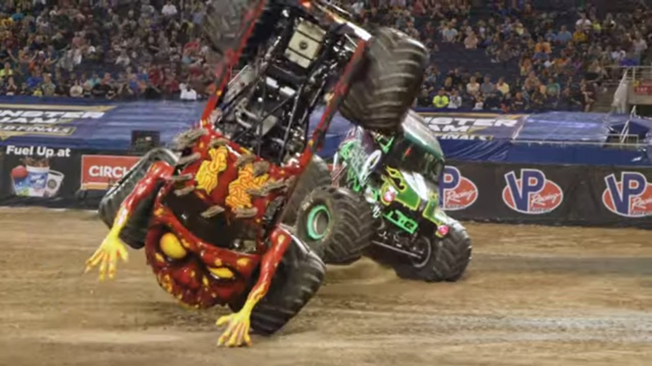 Monster Jam World Finals XX (20) Showdown and Racing Highlights