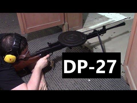 DP-27 - L'iconica Mitragliatrice Leggera Sovietica