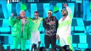 New 2019 live show Ozuna, Daddy Yankee, J Balvin, Anuel Aa - Taki Taki/Baila Baila Remix (En Vivo Pr
