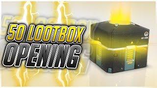 פתיחת 50 קופסאות ! | Overwatch