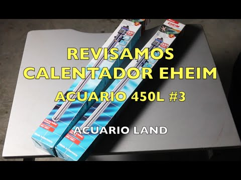 Review calentador eheim 300w acuario 450l 3 youtube for Calentador acuario