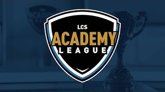 Week 9 Day 1 | LCS Academy Spring Split (2020)