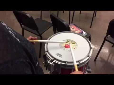 ABCD Drumline Warmup (Unison)