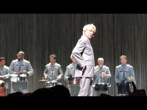 "David Byrne ""Slippery People"" Live At The Fox Theater in Oakland 8/17/18"