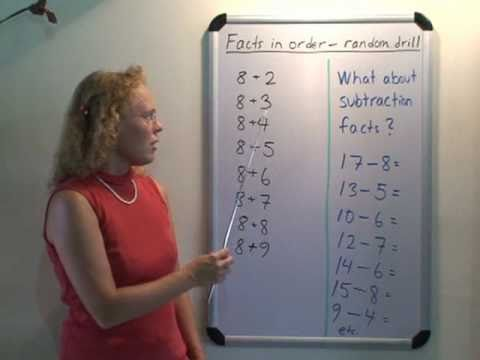 Strategies for Addition and Subtraction Facts  - Video from Math Mammoth