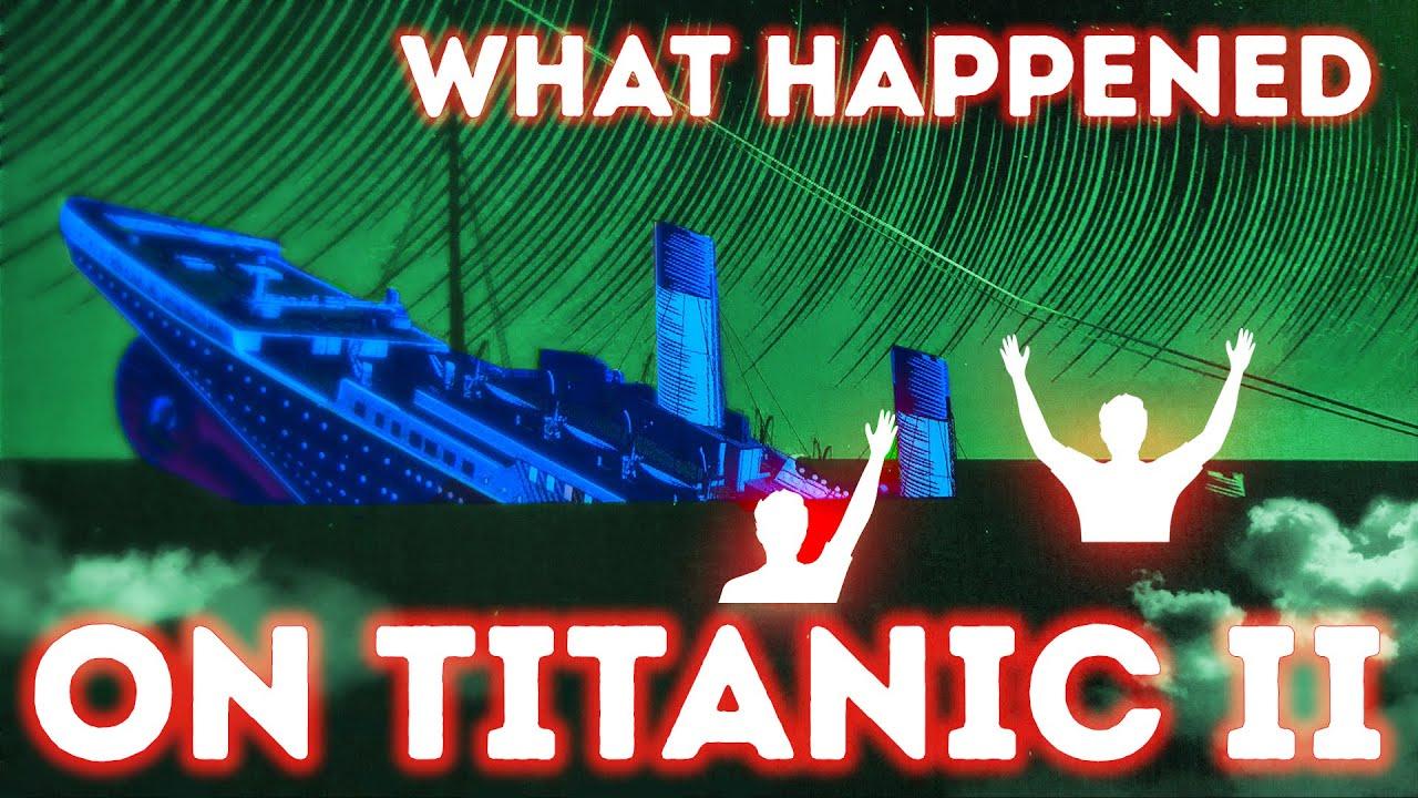 Es könnte Titanic II sein, aber ein Typ hat allein 600 Passagiere gerettet + video
