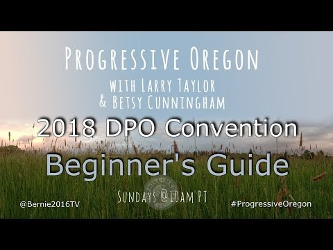 Progressive Oregon with Larry Taylor & Betsy Cunningham - January 21st, 2018