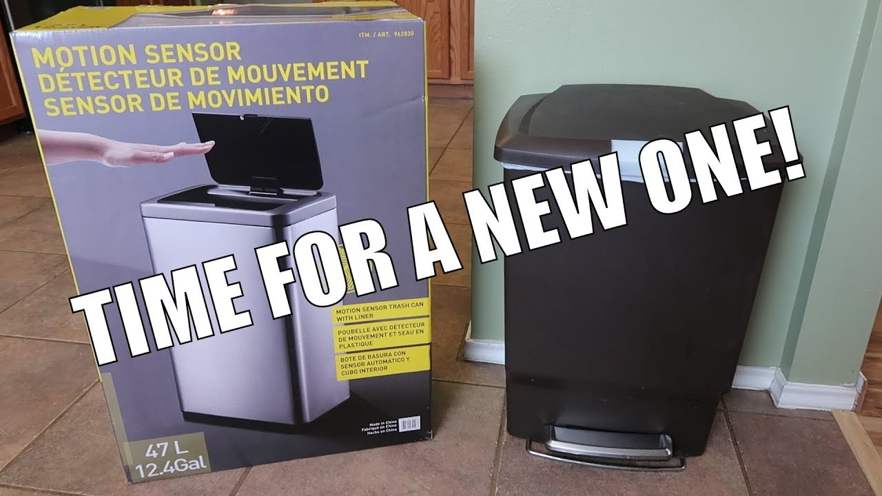 Costco Motion Sensor Trash Can Product Review