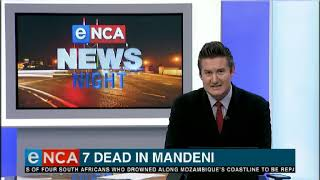 Seven dead after collision near Mandeni