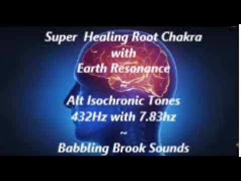 💖Super Healing~Root Chakra With Earth Resonance~Alt Isochronic Tones~ Extremely Recommended🎵!