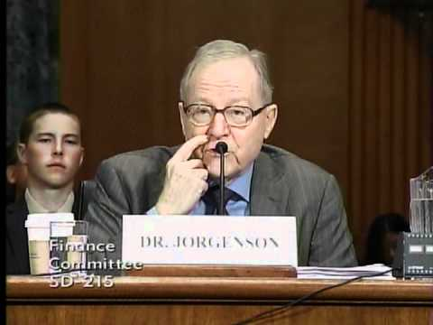 Senate Finance Committee Hearing on Tax Reform & US Energy Policy (pt. 3)