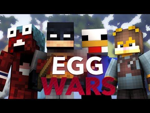 EGGWARS A TOPE CON BREI OLLIE Y ZEUS!! - Minecraft