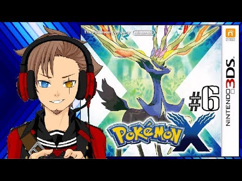 Let's Play Pokemon X part 6/45: Lots of Skating