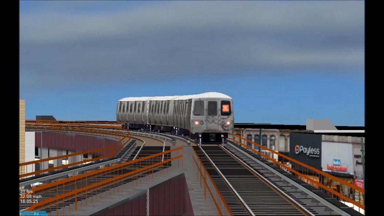 OpenBVE HD: Railfanning MTA Staten Island Railway [WIP