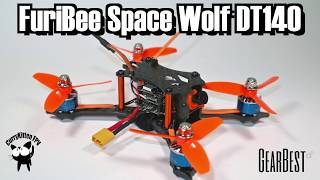 FPV Review: FuriBee Space Wolf DT140, supplied by Gearbest