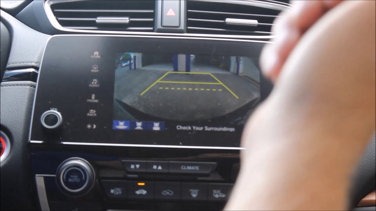 crv backup camera youtube