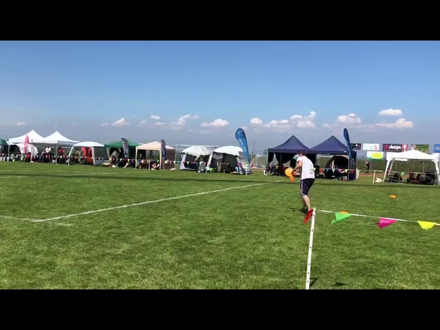 Ufo Disc Dog Sandreas Cup 2018 - Mirco e Wendy