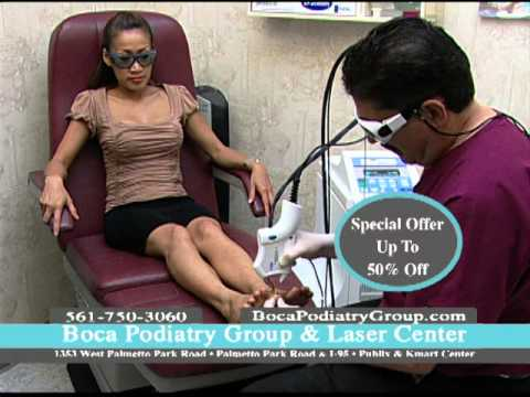Boca Podiatry Toenail Fungus Treatment w/ Laser – Before and After Pictures