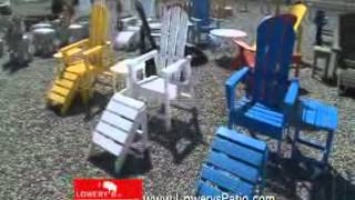 lawn and patio furniture commercial