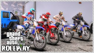 GTA 5 ROLEPLAY - Dirt Bike Offroading Meet   Ep. 389 Civ
