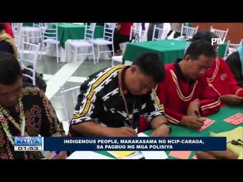 Indigenous people, makakasama ng NCIP-CARAGA, sa pagbuo ng mga polisiya
