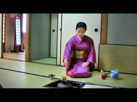 Japanese school GenkiJACS tea ceremony