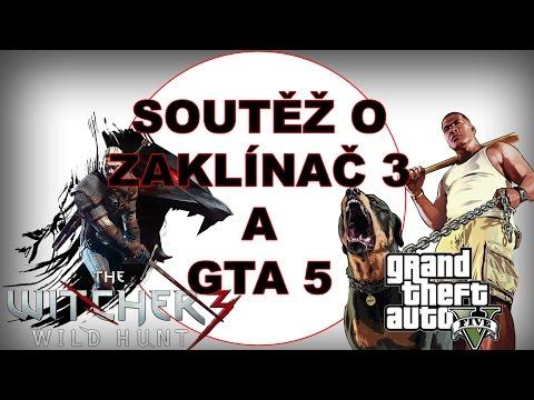 Soutěž o Zaklínače 3 a GTA 5