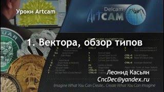 1. Вектора в Artcam. Обзор типов