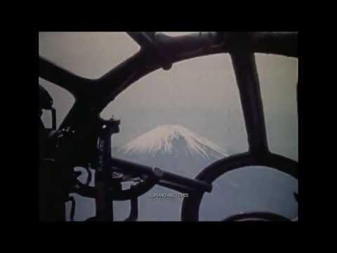 【WW2】本土空襲で撮影された米軍のガンカメラ映像集
