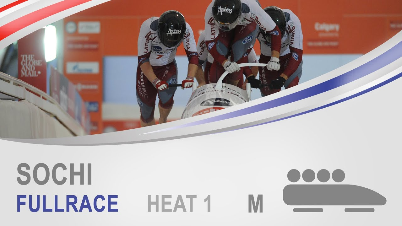 Sochi | 4-Man Bobsleigh Heat 1 World Cup Tour 2014/2015 | IBSF Official