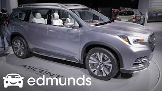 Subaru Ascent Concept First Look