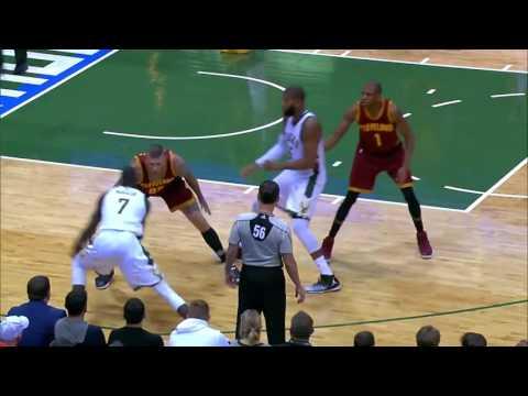 Thon Maker breaks Chris Anderson's ankles   Bucks vs Cavs 30 Nov 2016