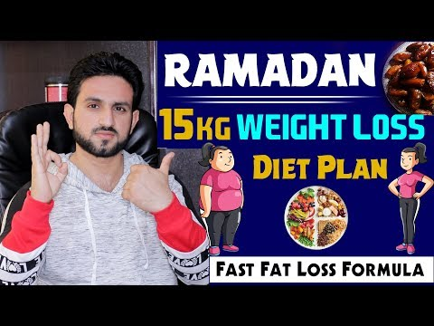 Ramazan 15 Kg Challenge Weight Loss Diet Plan Urdu/Hindi
