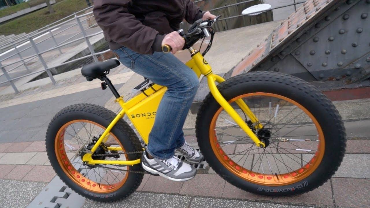 595 Euro Sondors Fatbike Das G 252 Nstigste E Bike Der Welt
