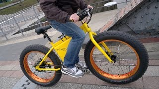 595 euro sondors fatbike das g nstigste e bike der welt im test. Black Bedroom Furniture Sets. Home Design Ideas