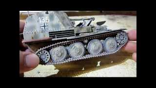 Building Dragon Befehlsjager 38 (marder Three) Tank. Complete From Start To Finish.