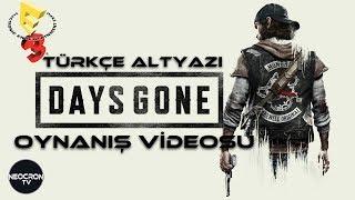 Days Gone Oynanış Videosu   E3 2017 Türkçe