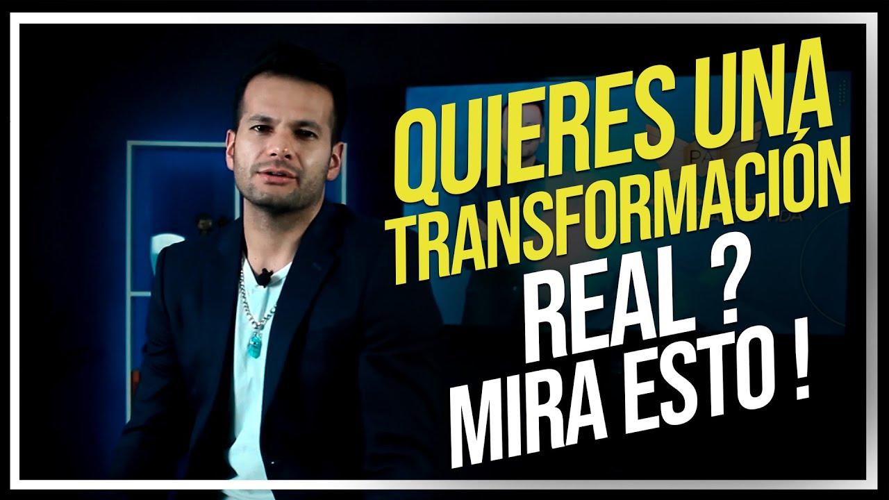 ¿QUIERES una TRANSFORMACIÓN REAL ? Mira esto !| Patricio Armas