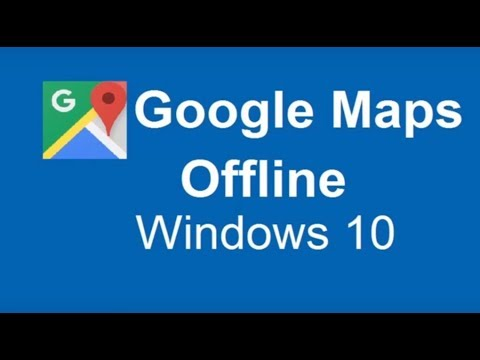 How to Download Google Maps for Offline Use Easiest Way - YouTube Download Google Maps For Windows on