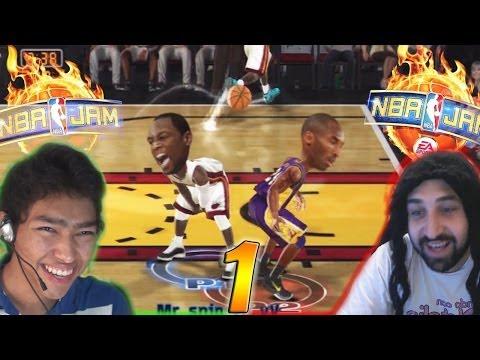 EL PEOR PARTIDO DE LA HISTORIA - NBA Jam (Jugando Con Natalia)