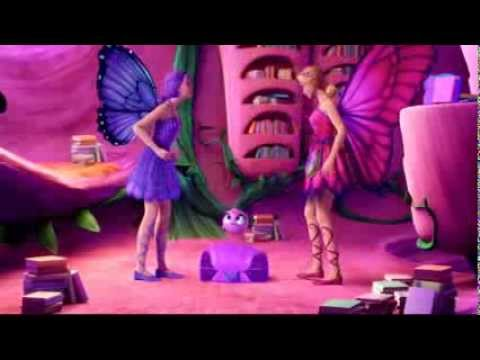 Barbie Mariposa & The Fairy Princess BLOOPERS FRENCH