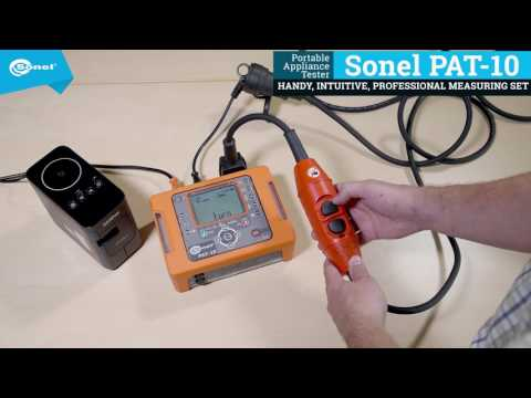 Extension Cord With PRCD Type S Test - Sonel PAT-10